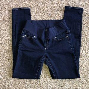 Gap Maternity Slim Straight Maternity Jeans Sz 2